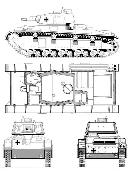 Neubaufahrzeug Krupp Turret