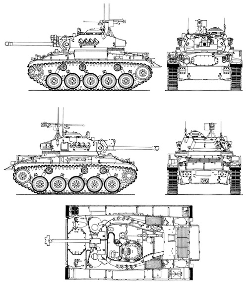 NM-116 (M-24 Chaffee Norway)