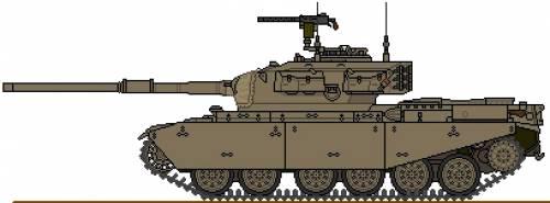 Oliphant Centurion MBT