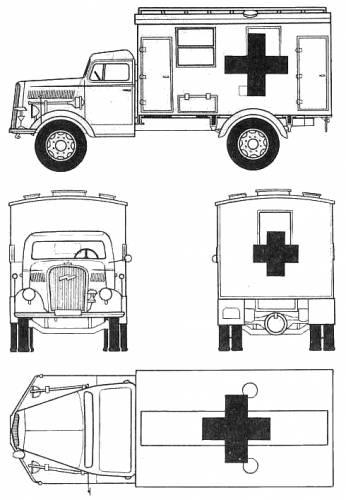 Opel Blitz 3.6t Ambulance