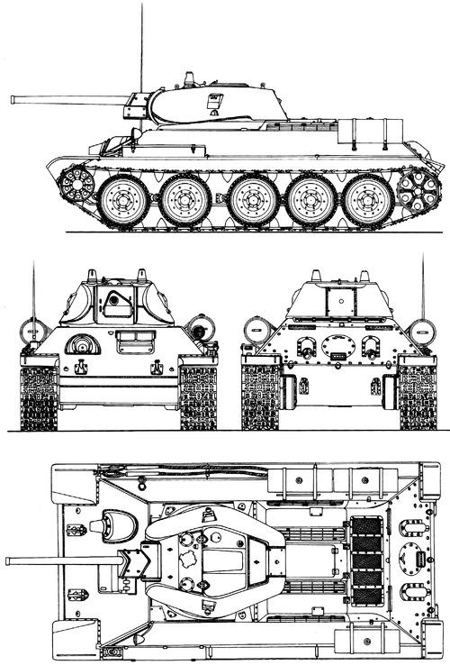 OT-34 M1942 Zavod 183 Flamethrower ATO-41