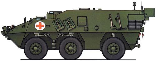 Pandur 6x6 Ambulance
