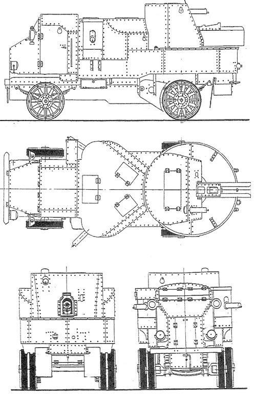 Putilov-Garford Armored Car