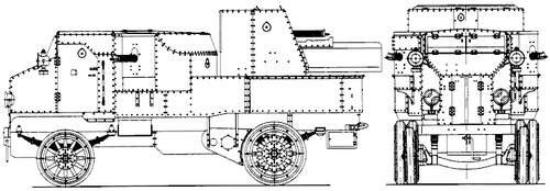 Putilov-Garford Armoured Car (1914)