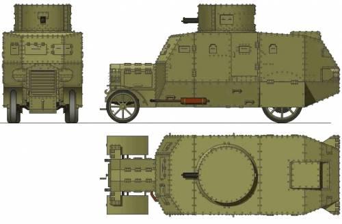 Raba VP. Armored Car (1927)