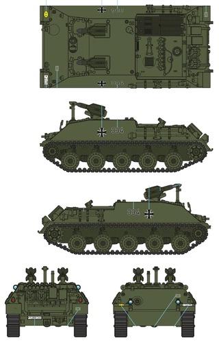 Raketenjagdpanzer 2 + SS-11