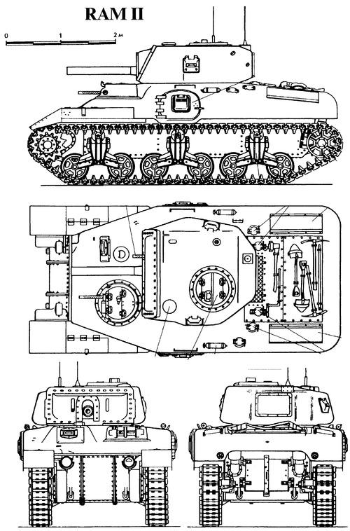 RAM II Cruiser Tank
