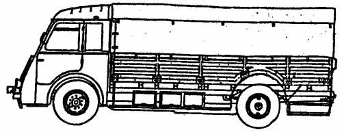 Renault AGK 5-ton Truck
