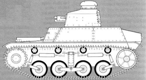 Renault AMC 34 FT-17 Turret