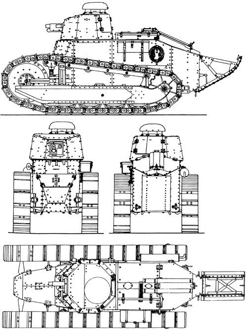 Renault FT-17 37mm 1917