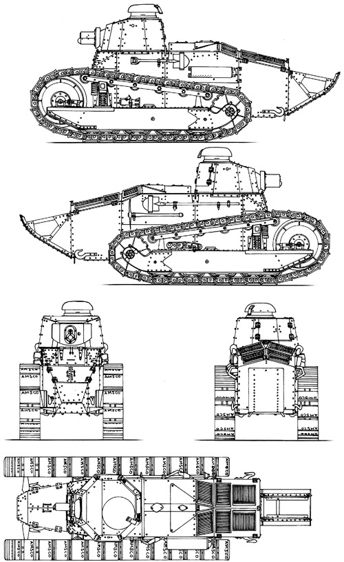 Renault FT-17 37mm 1917