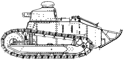 Renault FT-17 37mm (1918)