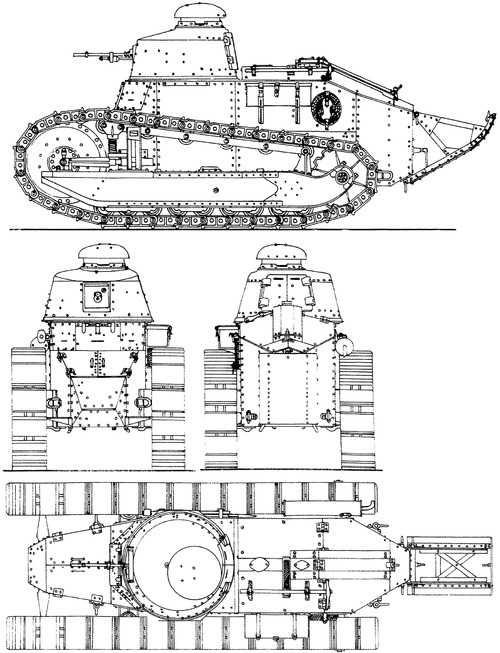Renault FT-17 8mm 1917