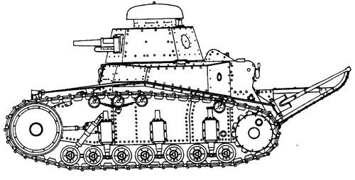 Renault FT-17 M (1918)