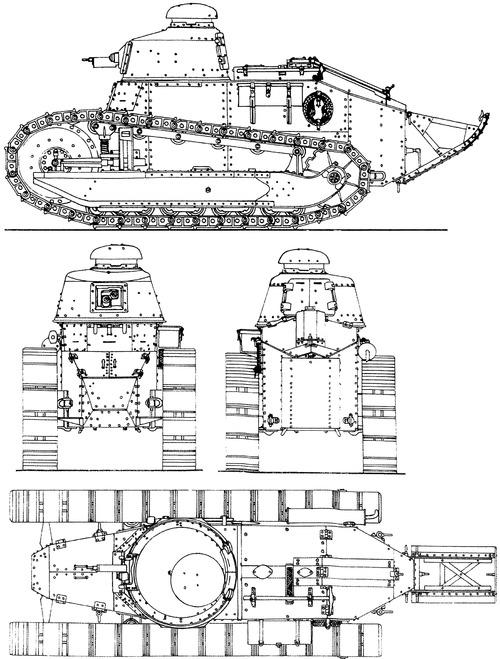 Renault FT-31 1917