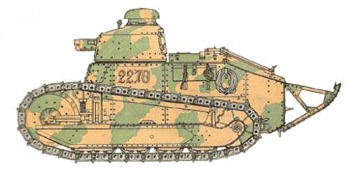 Renault FT 37mm