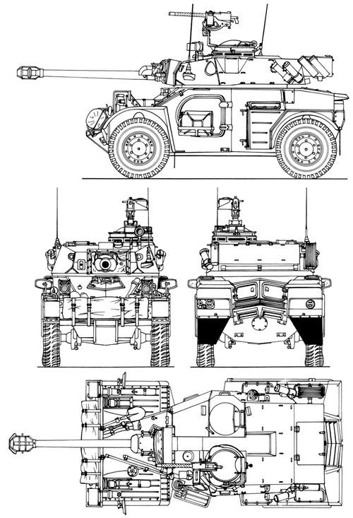Reumech OMC Eland 90 Mk.VII