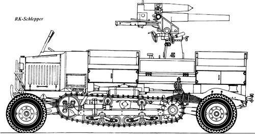 RK-Schlepper (Krauss-Maffei RK Rader-Ketten-Schlepper)