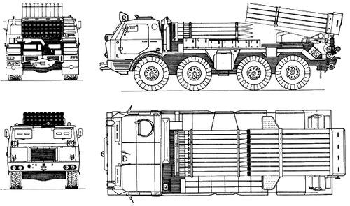 RM-70 M1972 122mm MLRS