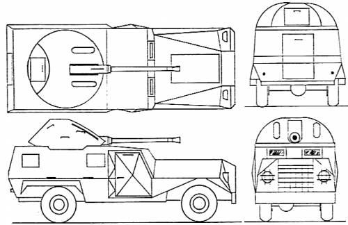 RM-79 40mm Armoured Car