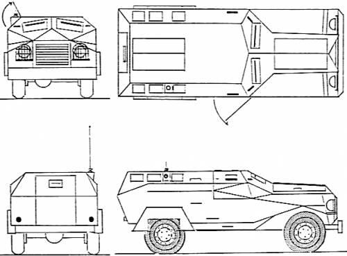 RM-79 Armoured Car