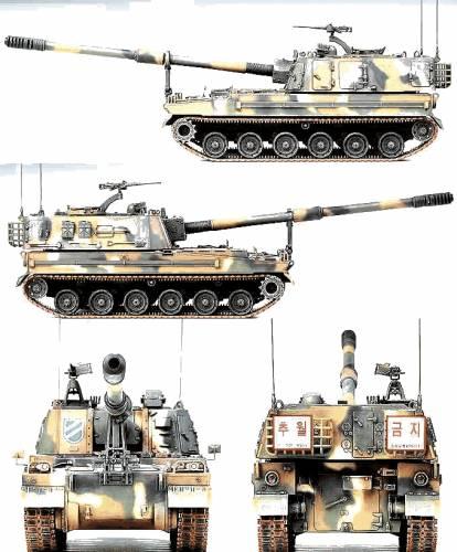 ROK K9 155mm SPG