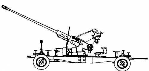 S-60 Type-9 57mm AA Gun
