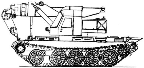 SPK-12 Heavy Crane ARV