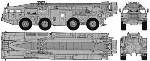 SS-1c SCUD B MAZ-543 TEL