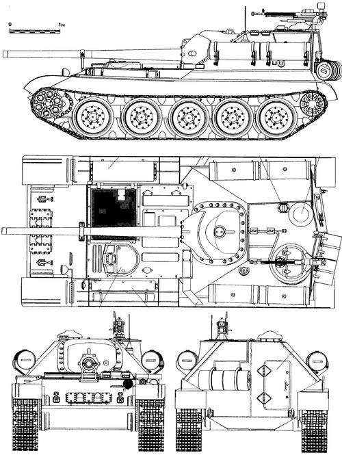 SU-101 Uralmash-1 (1947)