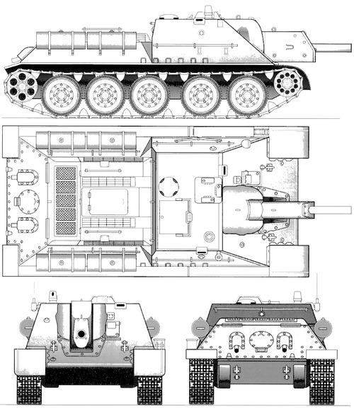SU-122 M1943