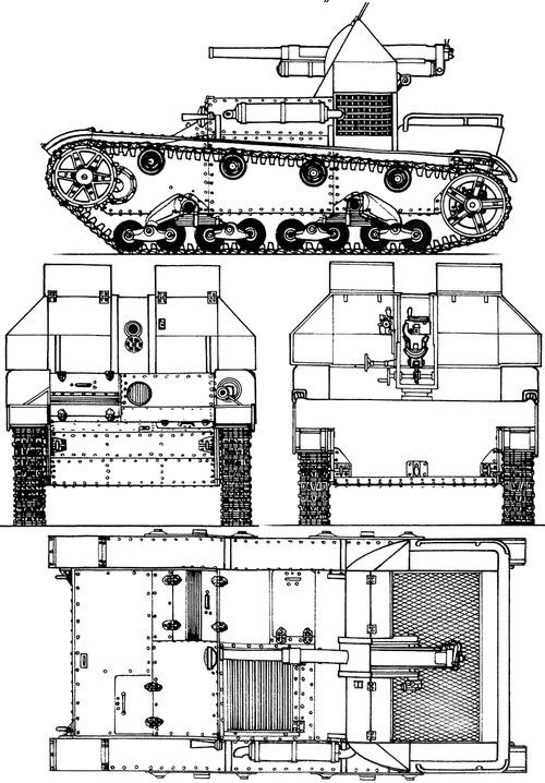SU-5-1 76.2mm T-26 SPG (1927)