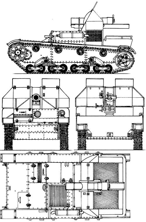 SU-5-2 122mm T-26 SPG