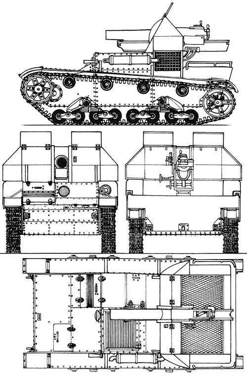 SU-5-3 153mm T-26 SPG