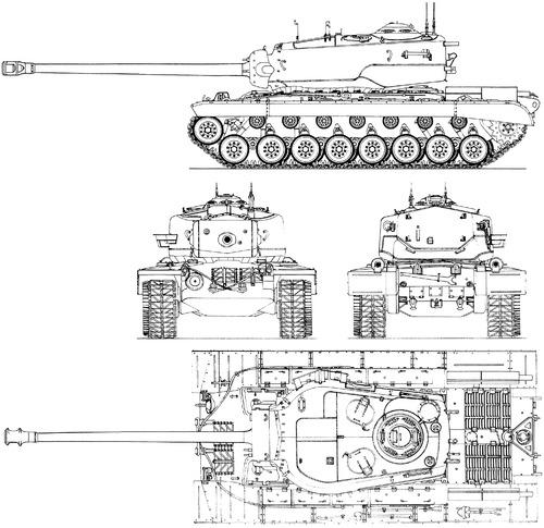 T29 Heavy Tank (1945)