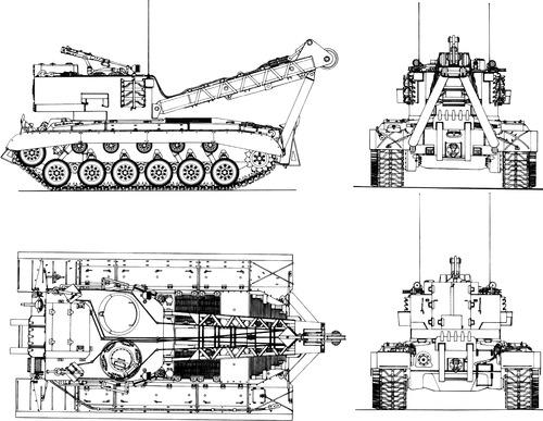 T-12 Pershing ARV