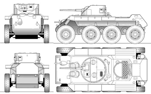 T-13 Armoured Car
