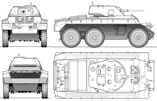 T-17 Deerhound Armoured Car