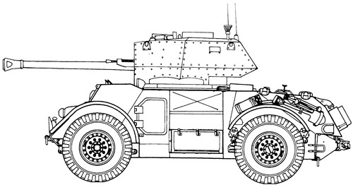 T-17-E1 Staghound Mk.III