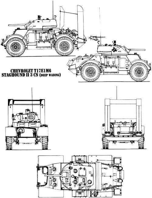 T-17E1 M6 Staghound Mk.II 3 CS