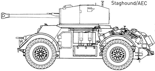 T-17E1 Staghound AEC