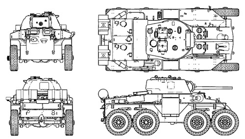T-18E2 Boarhound Armoured Car