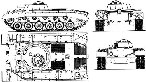 T-26 Pershing Flame Thrower