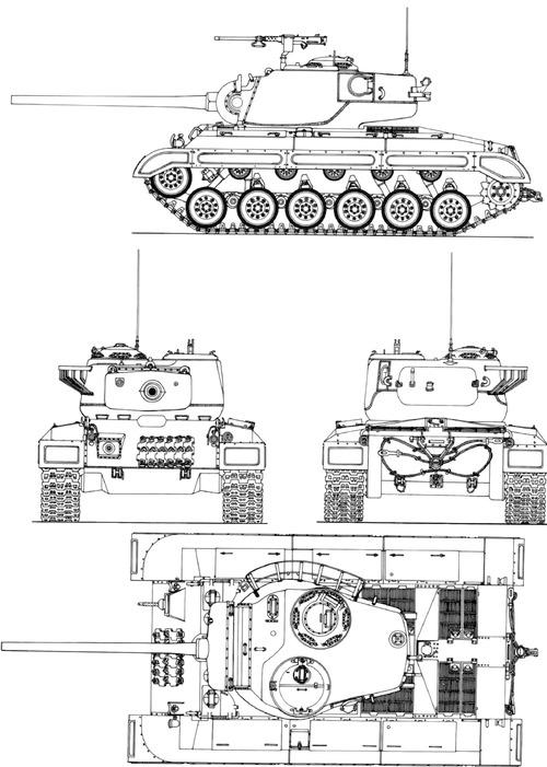 T-26 Pershing Prototype