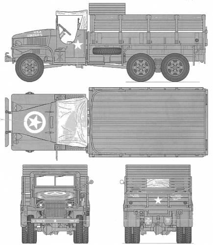 U.S. 2.5-TON 6x6 Cargo Truck