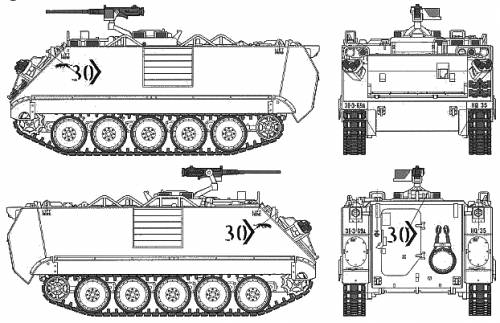 U.S. Armored Personnel Carrier Desert Version