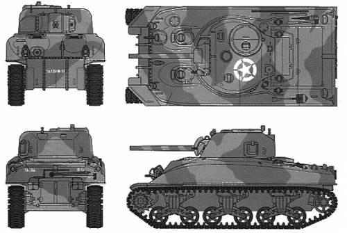 U.S. M4A1 Sherman