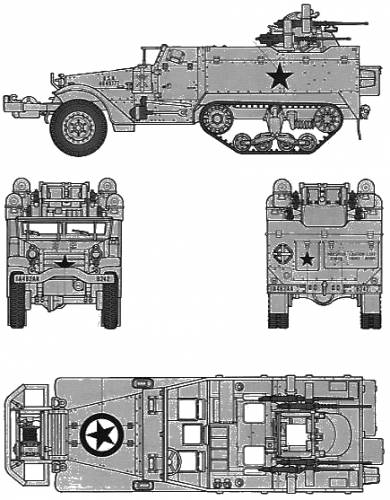 U.S. Muliple Gun Motor Carriage