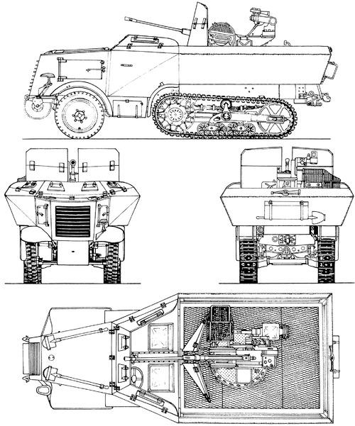 Unic P107 U304 (f)) 2cm Flak 38 Gepanzert