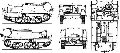 Universal Carrier Mk.IIC Wasp